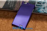 Пластиковый чехол для Lenovo K900 фиолетовый