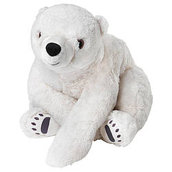 IKEA SNUTTIG (702.981.01) Мягкая игрушка, белые медведи, белые