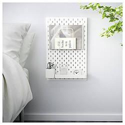 IKEA SKADIS (192.166.94) Перфорированная доска, белый