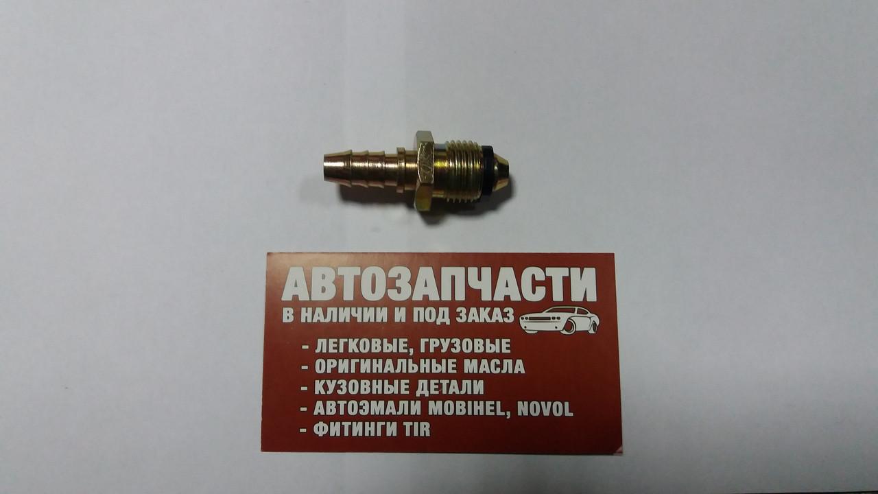 Штуцер резьбовой М16х1.5 под шланг Д=8