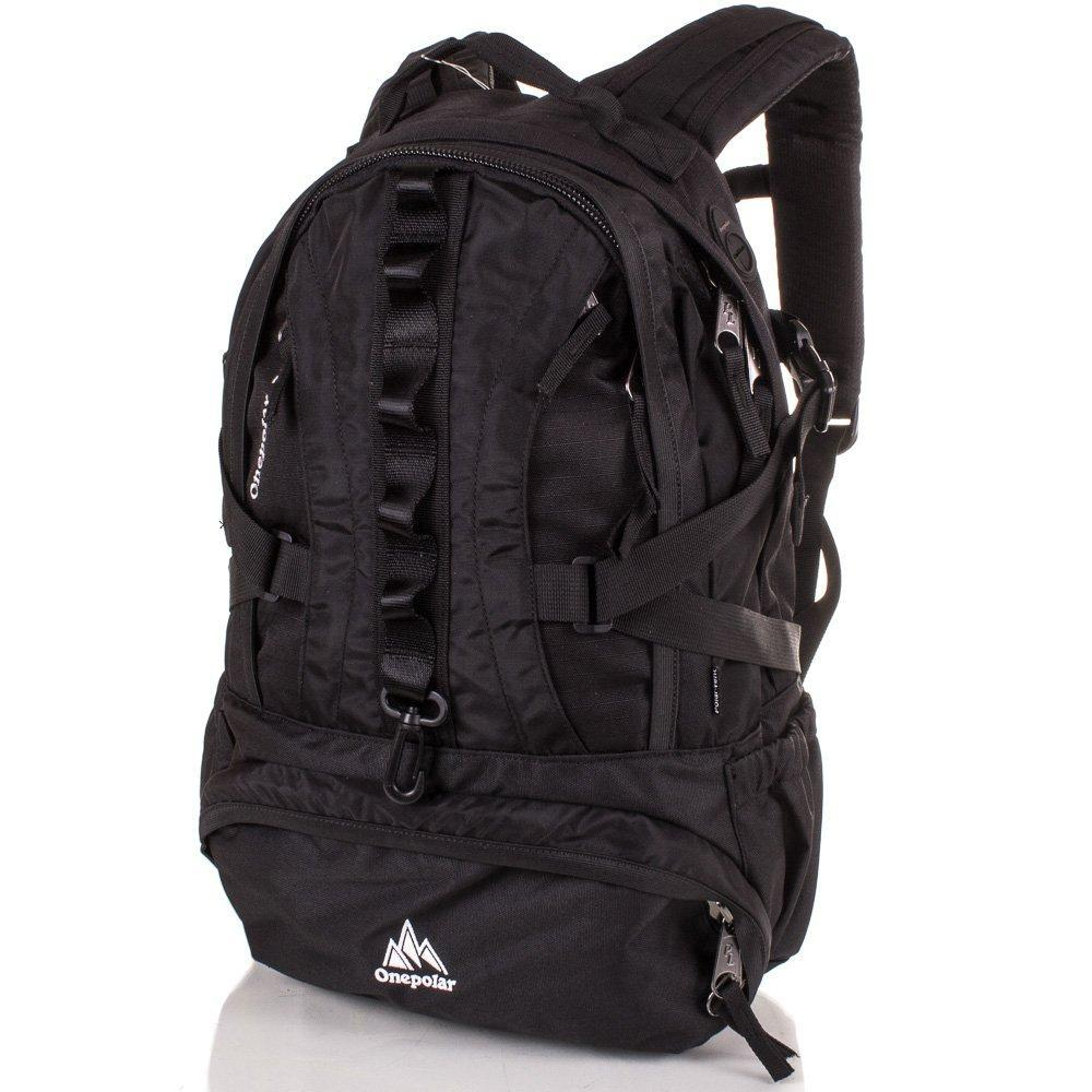 64f9e09f6776 Рюкзак спортивный Onepolar Мужской рюкзак ONEPOLAR (ВАНПОЛАР) W1003-black -  Bigl.ua