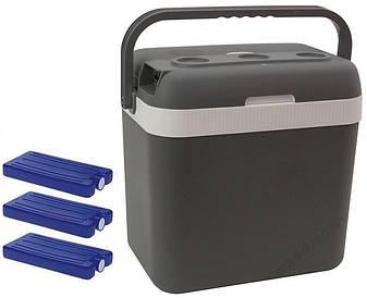 Автомобільний холодильник електричний 32L + 3 вставки