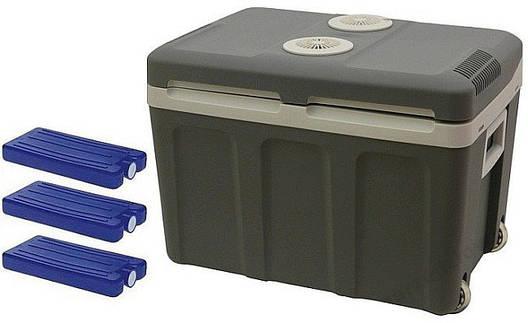 Автомобильный холодильник электрический 45L 12/230 + 3 вставки, фото 2