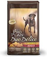 Про План DUO DÉLICE для взрослых собак с курицей