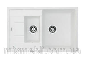 Мойка гранитная Classic 78*50*15 /белый, антрацит, беж, крем, серый металлик, бетон, титан/