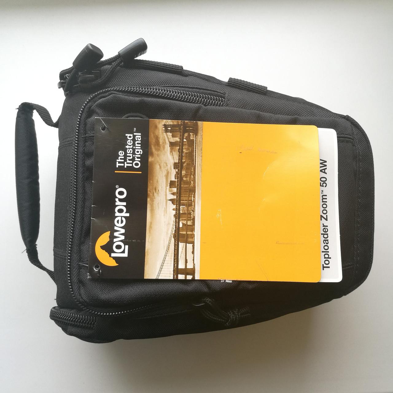 Сумка для фото LOWEPRO Toploader Zoom 50 AW Новая!