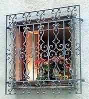 Кованая решетка в частный дом