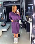 Женское прямое платье с карманами (в расцветках), фото 4