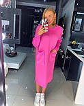 Женское прямое платье с карманами (в расцветках), фото 5