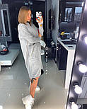 Женское прямое платье с карманами (в расцветках), фото 6