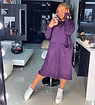 Женское прямое платье с карманами (в расцветках), фото 8