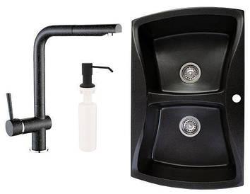 Кухонна мийка Granitan Double
