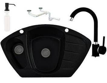 Кухонна мийка Granitan Compact