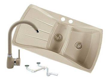 Кухонна мийка Granitan Prestige