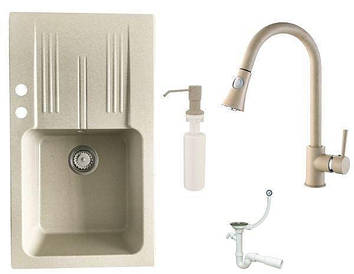 Кухонна мийка Granitan Ada