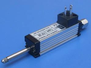 Датчик линейного перемещения серии LTR для измерения коротких перемещений с возвратной пружиной