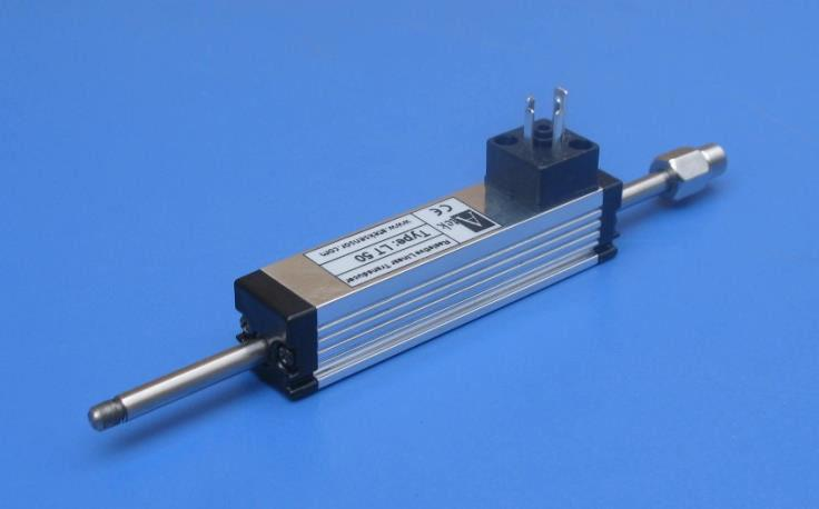 Датчик линейного перемещения серии LT для измерения коротких перемещений