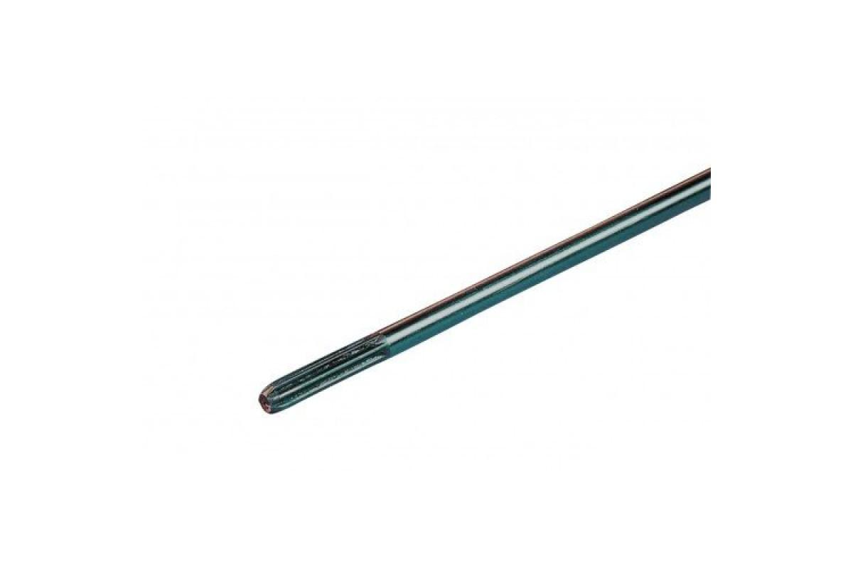 Вал бензокосы 9х9 d=8 мм
