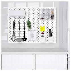 IKEA SKADIS (292.170.61) Перфорированная доска, белый