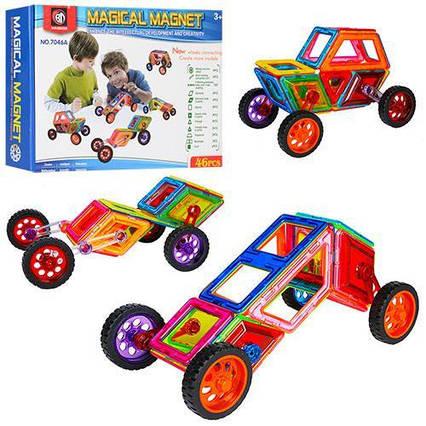 Магнитный конструктор Magical Magnet (46 деталей) арт. 7046А