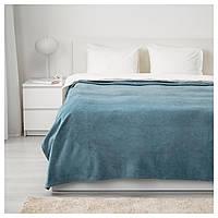 IKEA TRATTVIVA (203.493.39) Покрывало, голубой