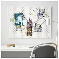 IKEA SKADIS (492.173.81) Перфорированная доска, белый