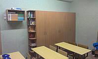 Шкаф - раздевалка для школьных кабинетов 2500*2050*400