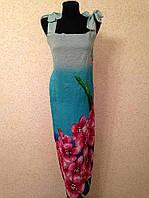 Пляжный сарафан - парео жатый 958 (цв.32-2)