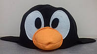 "Шапка для бани (черный фетр), ""Пингвин"""