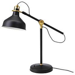 IKEA RANARP (503.313.85) Настольная лампа черного цвета