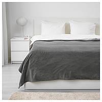 IKEA TRATTVIVA (703.496.81) Покрывало, серый