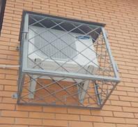 Металлическая решетка для кондиционера