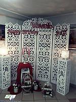 """Ажурная резная ширма """"Прованс"""", свадебная арка, фотозона, фото 1"""