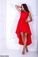 Эффектное асимметричное летнее платье с коротким рукавом  Ferreira