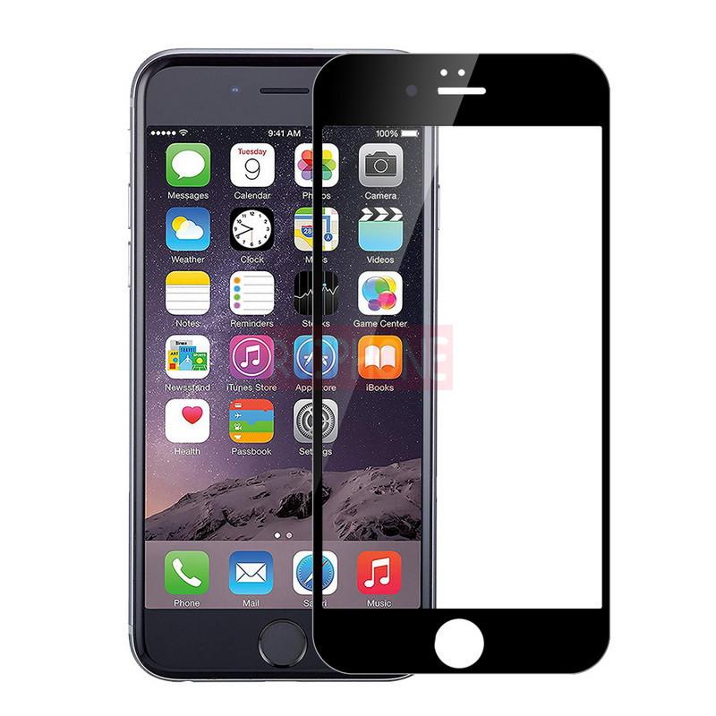 Защитное стекло 6D на iPhone X, iPhone XS