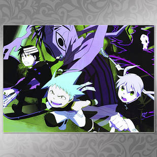 Плакат Аниме Soul Eater 05