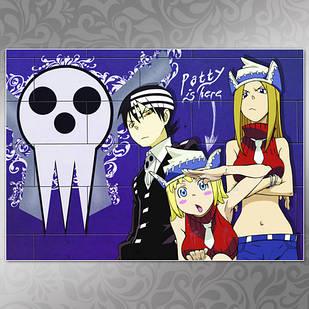 Плакат Аниме Soul Eater 03