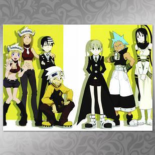 Плакат Аниме Soul Eater 02