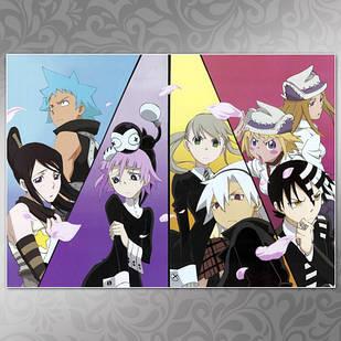 Плакат Аниме Soul Eater 01
