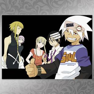 Плакат Аниме Soul Eater 08