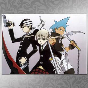 Плакат Аниме Soul Eater 09