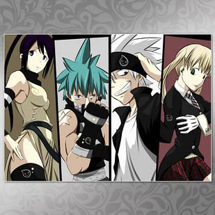 Плакат Аниме Soul Eater 10