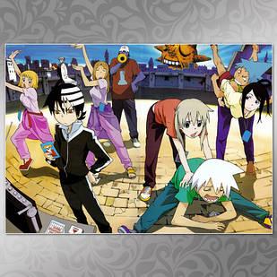 Плакат Аниме Soul Eater 06