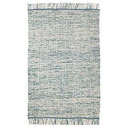 IKEA KOPENHAMN (003.819.24) Коврик тканый плоский, ручной сине-зеленый
