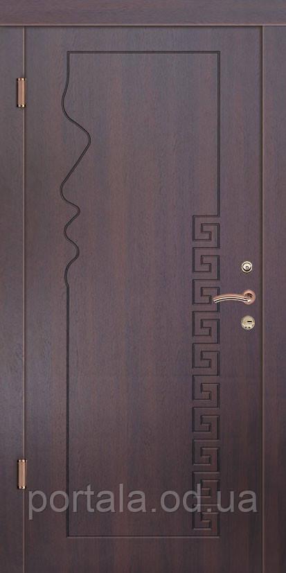 """Вхідні двері """"Портала"""" (серія Еліт) ― модель Родос"""