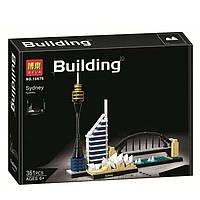 """Конструктор Bela 10676 """"Сидней"""" 361 деталь. Аналог Lego Architecture 21032"""