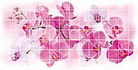 Панель ПВХ Мозаика Орхидея Розея (955х480х0,2мм.)