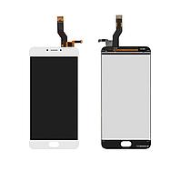 Дисплей Meizu M3 Note (L681h) с сенсором (тачскрином) White Original