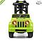 Детская каталка толокар автомобиль.Машинка каталка зеленый.Детская игрушка машина каталка., фото 3
