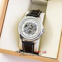 Мужские наручные часы Omega classic silver white (05212) реплика